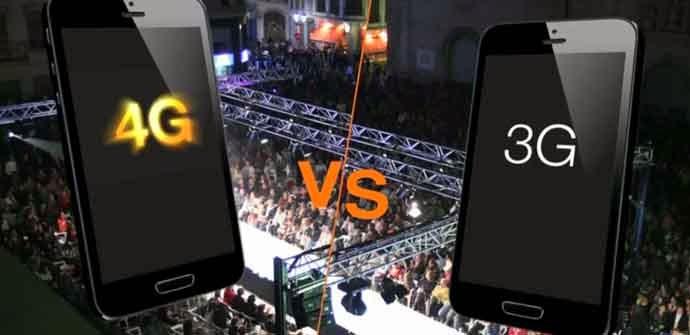 La evolución es más rápida con el 4G