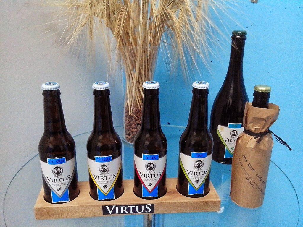 cervezas artesanales Virtus Burgos variedades