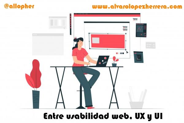 Entre usabilidad web UX UI