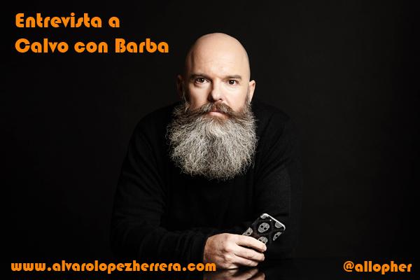 entrevista calvo con barba