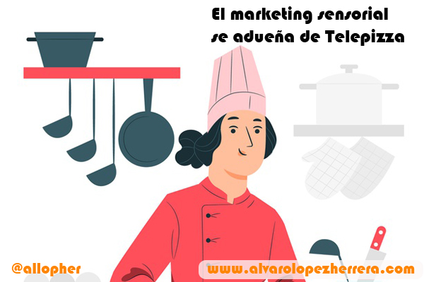El marketing sensorial se adueña de Telepizza