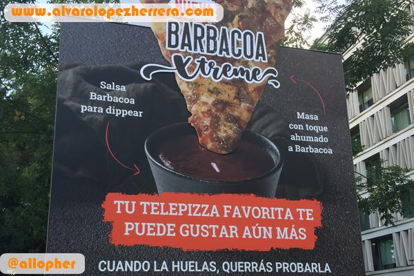 El marketing sensorial se adueña de Telepizza