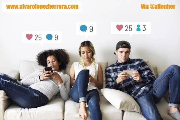 las redes son cada vez menos sociales