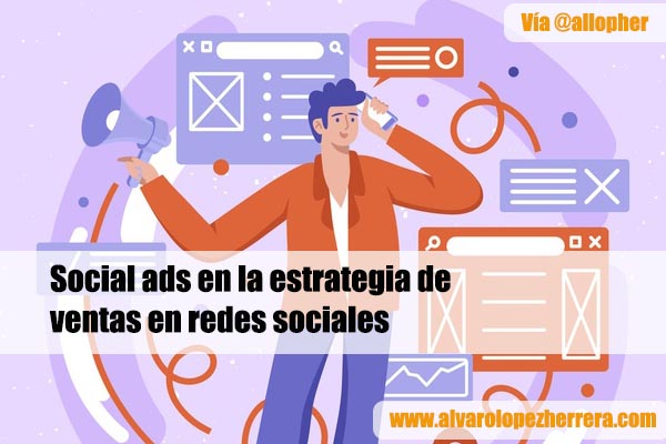 social ads en la estrategia de ventas en redes sociales